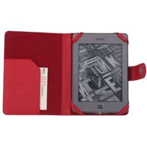 Folio Leather Case Cover Pouch For  Kindle Touch Electronics