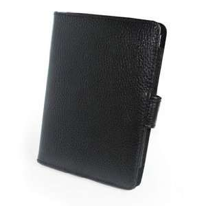 Cover Acase(tm) Kindle Touch Leather Case (Black) for 4th Generation