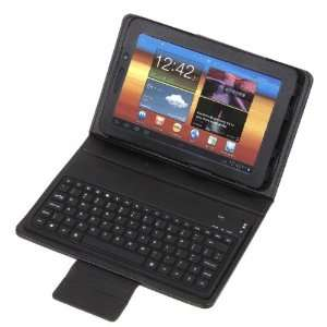 Wireless Bluetooth Keyboard + Leather Case Stand for