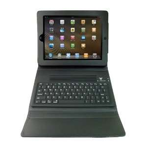 Modern Tech 2 in 1 Faux Leather Folio Case with Bluetooth Keyboard