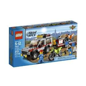 LEGO City Town Dirt Bike Transporter 4433 Toys & Games