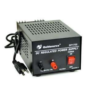 DC Regulated 13.8 Volt / 5 Amp Linear Power Supply