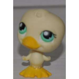 Duck #199 (Yellow, No eyeshadow) Littlest Pet Shop (Retired) Collector