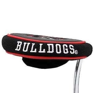 Georgia Bulldogs Black Mallet Putter Cover