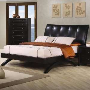 QUEEN BEDROOM SET 4 PIECE CAPPUCCINO MAPLE HARDWOOD Home & Kitchen