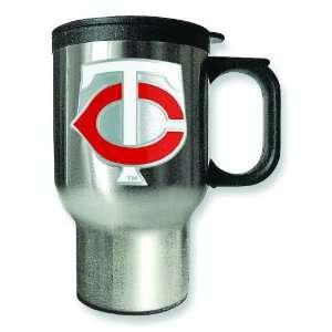 MLB Minnesota Twins Stainless Steel Travel Mug 16oz