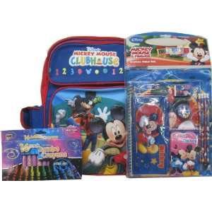Disney Mickey Mouse Clubhouse Large Backpack with School