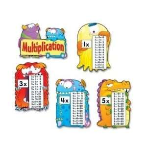 Carson Dellosa Multiplication Fact Monsters Chart