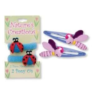 Natures Creations Hand Painted Hair Acessories Case Pack