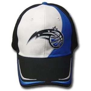 NBA OFFICIAL ORLANDO MAGIC CAP HAT BLACK BLUE ADJ NEW