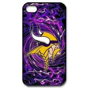 NFL Minnesota Vikings iPhone 4/4s Cases Vikings logo Cell