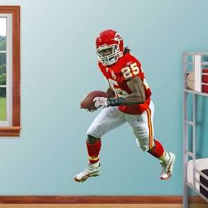 NFL Jamaal Charles Vinyl Wall Graphic Decal Sticker Poster