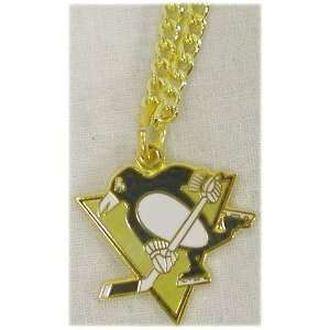 NHL PITTSBURGH PENGUINS TEAM LOGO Necklace Sports