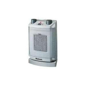Holmes HCH4077UM   Oscillating Ceramic Heater, 8 x 6 3/4 x