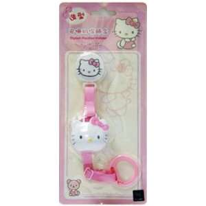Hello Kitty Baby Pacifier Leash Holder Strap with Cover