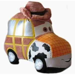 Disney Toy Story 8 Woody Car Plush Toys & Games