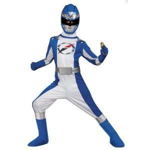 Power Rangers Operation Overdrive Blue Ranger Complete Child Costume