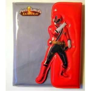 Power Rangers SAMURAI Premium High Quality PVC Wallet   Licensed Power