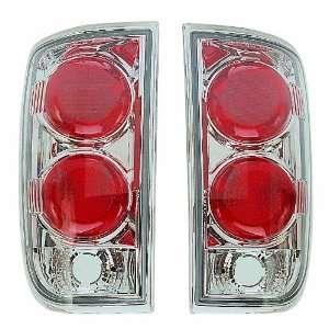 95 00 Chevy Blazer Chrome Altezza Euro Tail Lights