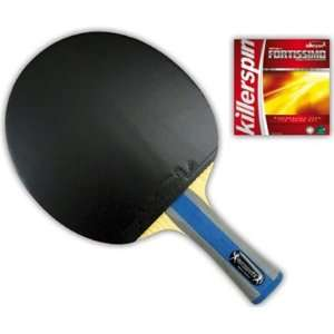 Killerspin Table Tennis Racket RTG Series Diamond TX Premium Flared