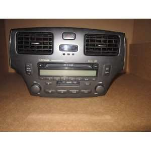 02 03 04 05 06 Lexus Es330 6 Cd Player Radio: Car Electronics