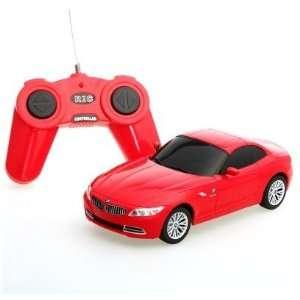 124 Scale BMW Z4 RED Radio Remote Control Car Toys & Games
