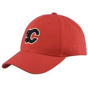 Reebok Calgary Flames Red Unstructured Slouch Hat