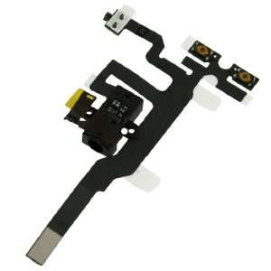 Audio Ribbon Jack Cable Replacement for iPhone 4 4G Electronics