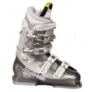 Salomon Idol 7 Ski Boots Charcoal/White Pearl: Sports