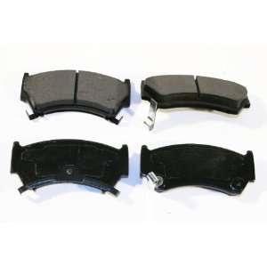 Prime Choice Auto Parts SMK668 Premium New Semi Metallic Front Brake