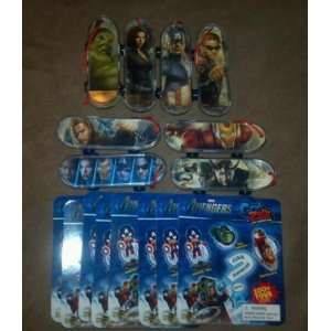 MARVEL GRAB ZAGS SKATEBOARDS COMPLETE SERIES 1 SET OF 8 Toys & Games