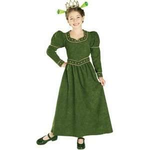 Fiona Deluxe Shrek Child Costume Small Clothes Size 46 Toys & Games