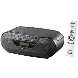 Sony Portable Digital Tuner AM/FM Radio Tape Cassette Recorder &