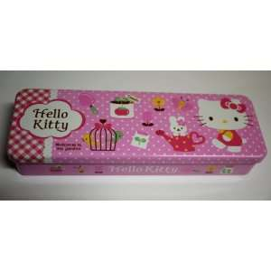 Lovely Pink & Red Hello Kitty Pencil Box