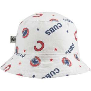 New Era Chicago Cubs Infant White Baby Bucket Hat
