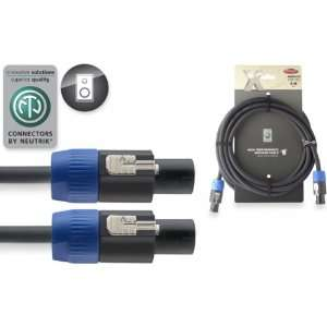 Stagg 20ft. X Series Speaker Cable   SPK Plug / SPK Plug