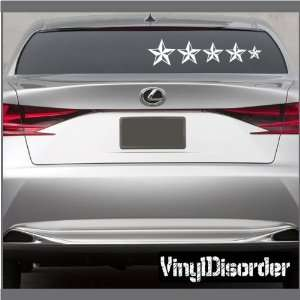 Decal Set Stars 04 Stick People Car or Wall Vinyl Decal Stickers