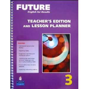 English for Results Teachers edition and Lesson Planner Level 3