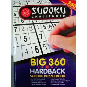 360 SUDOKU CHALLENGE Hardback Puzzle Book BIG PAGES