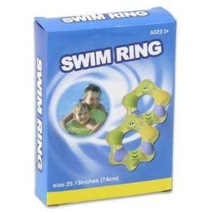 29d Plastic Star Shape Swim Ring   Assorted Color Toys & Games