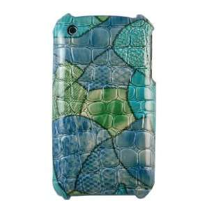 CASETRONICS Blue & Green Turtle Shell Hard Shell Case for