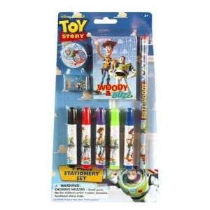 Toy Story 9 Piece Stationery Set On Blister Card Case Pack