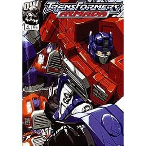 Transformers: Armada (2002 series) #4: Dreamwave: Books