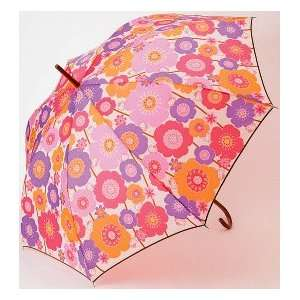 Hello Kitty   Adult Pink Flower Full Size Umbrella Toys & Games