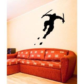 Vinyl Wall Art Decal Sticker Large NINJA Martial Art Decor
