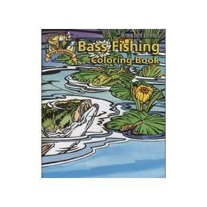 Outdoor Youth Adventures The Bass Fishing Coloring Book  Toys & Games