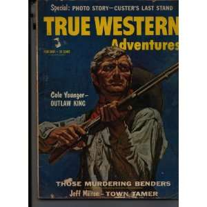True Western Adventures Magazine February 1960 none