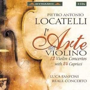 Con Vn (12)/Cap (24) Ad Libitum Op. 3 P. Locatelli Music