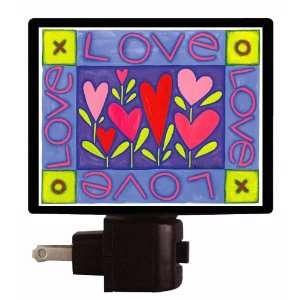 Valentines Day Night Light   Love XO LED NIGHT LIGHT