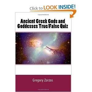 Ancient Greek Gods and Goddesses True/False Quiz